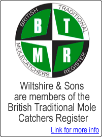 Wiltshire & Sons members of the British Mole Catchers Register